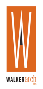 A graphic of the walker arch logo